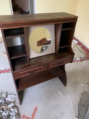 Toaletka szafka komoda drewniana