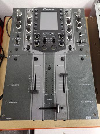 Mixer skrecz Pioneer DJM-909 mikser odnowiony scratch kultowy