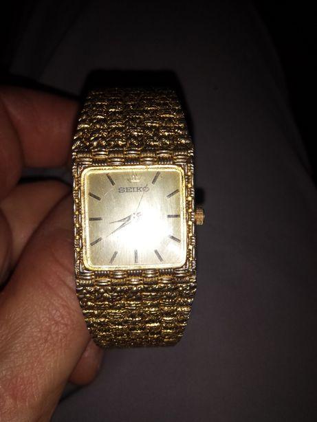 Seiko,Vintage relógio senhora, ouro
