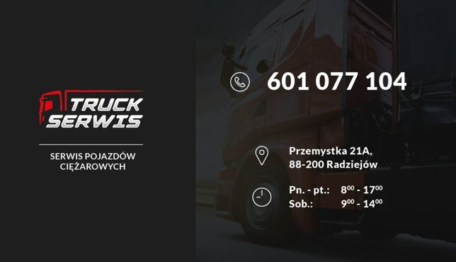 Naprawa i serwis Aut Ciężarowych, Serwis Tir, Serwis mobilny Radziejów