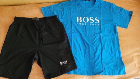 Komplety męskie spodenki plus koszulka
