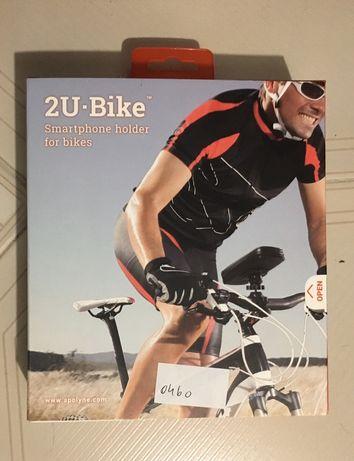 Suporte telemóvel bicicleta
