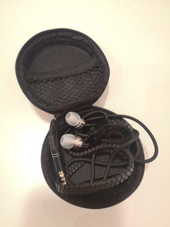 Nowe stylowe słuchawki z mikrofonem