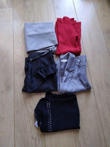 Paczka ubrań damskich rozmiar 34 i S