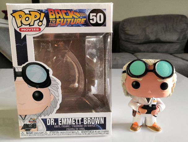 Figurka FUNKO POP! Dr. Emmett Brown 50 / Back to the Future / UNIKAT!