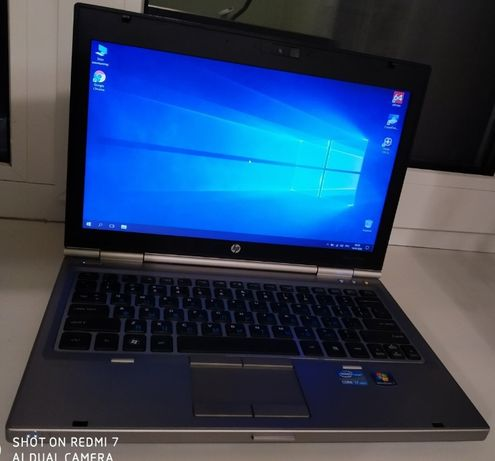 "Мощный ноутбук HP EliteBook 12.5""/Intel i7-2620m/до 16Gb ddr3/500Gb"