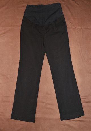 Spodnie ciążowe, czarne eleganckie, rozmiar 38. H&M.