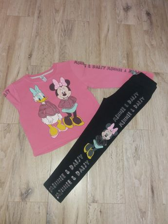 Komplet dla dziewczynki Myszka Minnie 116