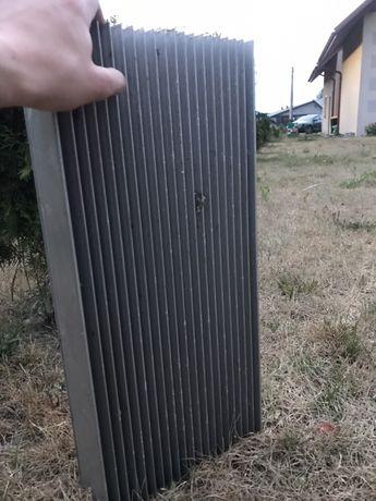 DUŻY RADIATOR 560x260x90 :wytłaczany, żeberkowy, naturalny