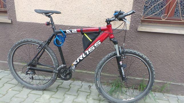 """Rower KROSS level A2 26"""" czerwono-czarny"""