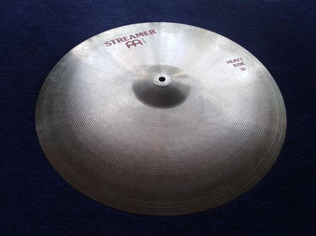 "Talerz do perkusji Meinl Streamer Heavy Ride 18"" lata 80te NS12"