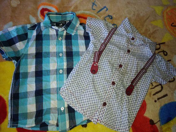 Рубашки, тениски на рост 92-98, цена за обе