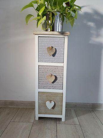 Szafka dekoracyjny z szufladkami