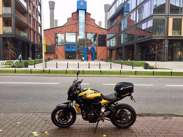 Yamaha MT-07  ABS pełna moc 2015 r. kat A 700 naked 75KM zamiana