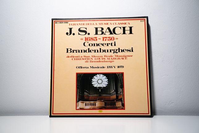LP J. S. Bach - Concerti Brandenburghesi