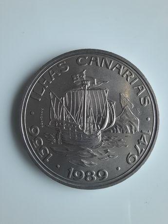 Portugalia moneta okolicznościowa - 100 Escudo - Ilhas Canarias - 1989