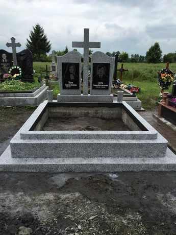 Пам'ятнике з граніту та крошкі веготовленя та реставрація