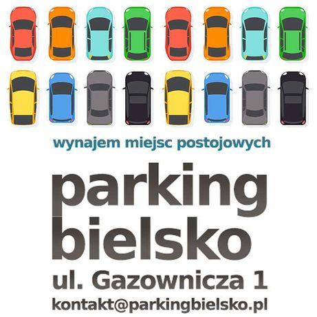 Parking Bielsko centrum ul. Gazownicza 1 prywatne miejsca postojowe