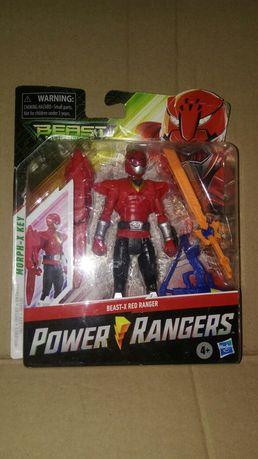 Figurka Power Rangers Beast-X Red czerwony ranger
