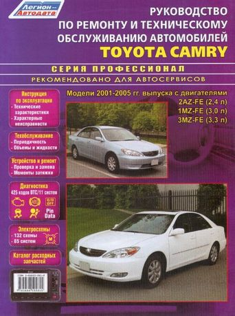 Toyota Camry (Тойота Камри). Руководство по ремонту и эксплуатации.
