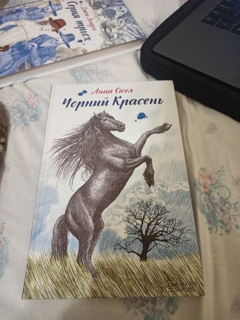 Чорний Красень Анна Сюел Книга