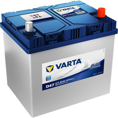 Akumulator VARTA Blue Dynamic D47 60Ah 540A JP+