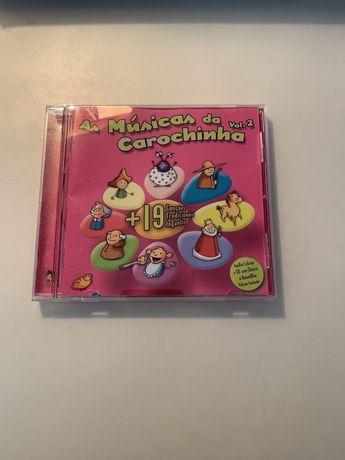 CD- A musica da carochinha vol.2