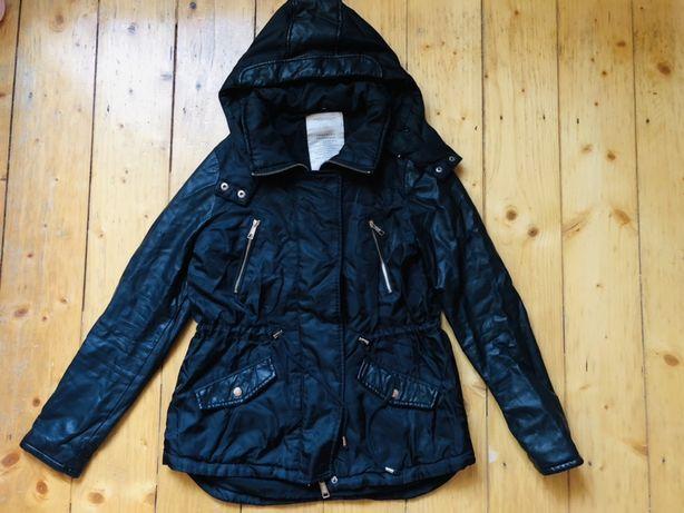 Теплая куртка парка zara