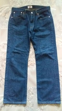 Джинсы Levis 501 (Original) W34 L30 Made in Hungary