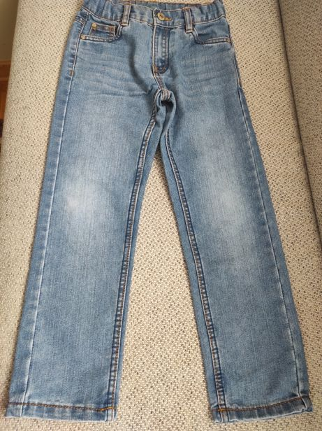 Spodnie chłopięce jeansy 122 cool club smyk