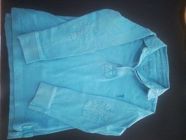Polo Lanidor azul bebé 2/3 anos