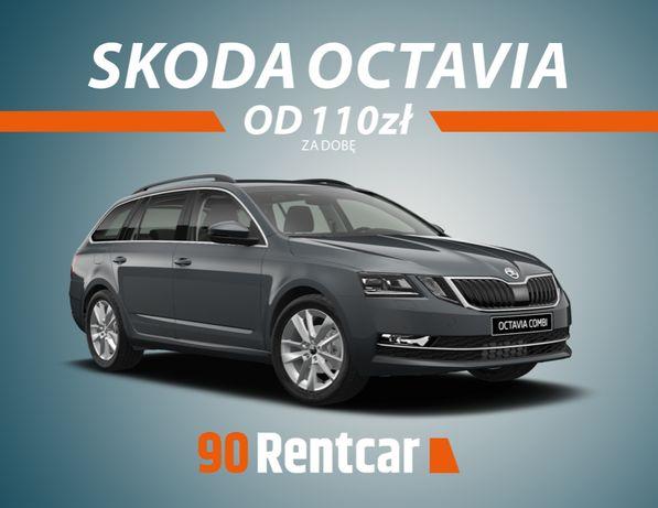 Skoda Octavia III / Wynajem auta / Wypożyczalnia samochodów / Rybnik