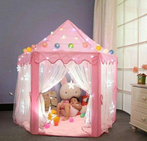 Детская, игровая палатка-домик, Большая детская беседка. 135см х 140см