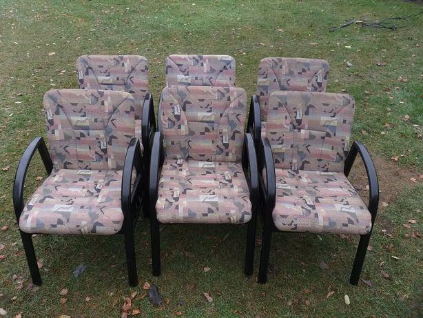 6 krzesel drewnianych
