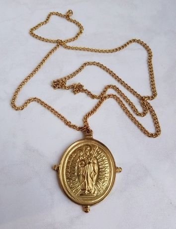 Юбилейный медальон Beata Maria 1489 - 1989