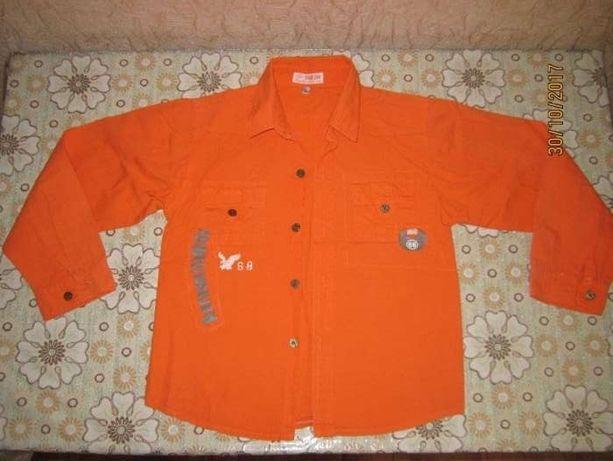 Стильная рубашка на мальчика 10-12 лет за супер ценой!!!