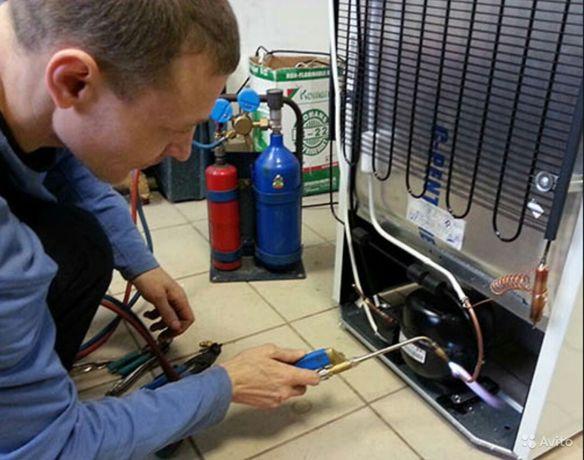 Професійний ремонт холодильників,ларів,вітрин,холодильних камер битови