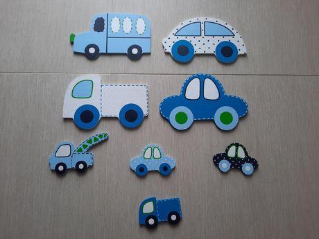 Dekoracje w kształcie samochodów