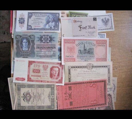 Kolekcja banknotów