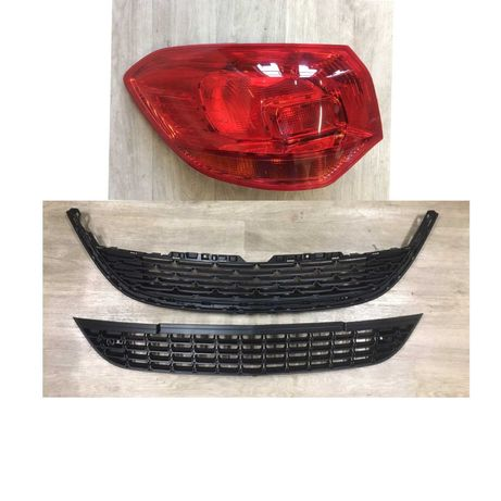 Решетка Бампер Защита двигателя Фонарь Заглушка Opel Astra J Астра J