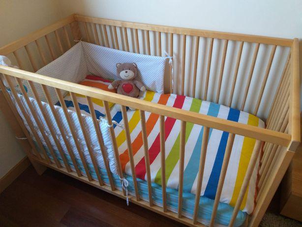 KIT BERÇO + Acessórios para cama de CRIANÇA