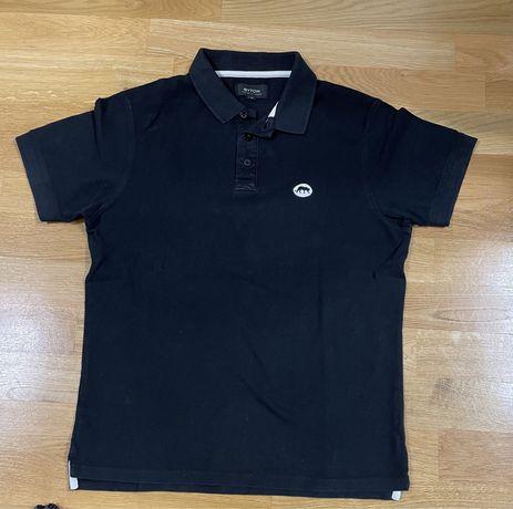 Czarna koszulka polo Bytom M