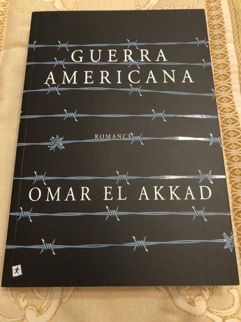 """Livro """"Guerra Americana"""" de Omar El Akkad"""