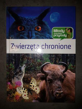 Książka Zwierzęta chronione Młody obserwator przyrody Nowa
