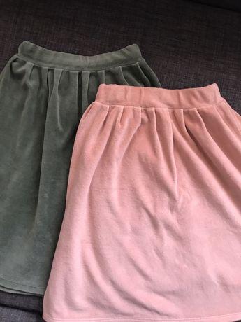 Spódniczki Mingo kids welur gratis bluzeczka moumout