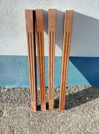 Balaustre de madeira