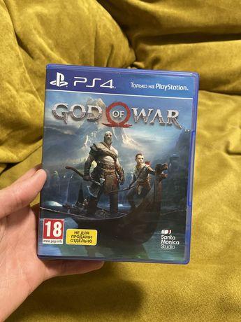 Игра на Play Station — God Of War