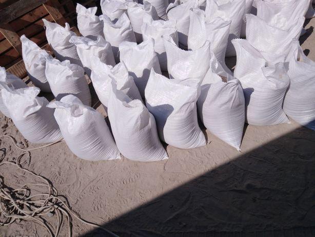 Пісок фасований доставка пісок в мішках цемент щебінь вапно вантажники