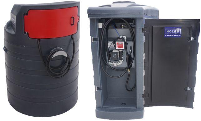 Zbiornik dwupłaszczowy na paliwo 1500L - 2500L MD- MX olej napędowy