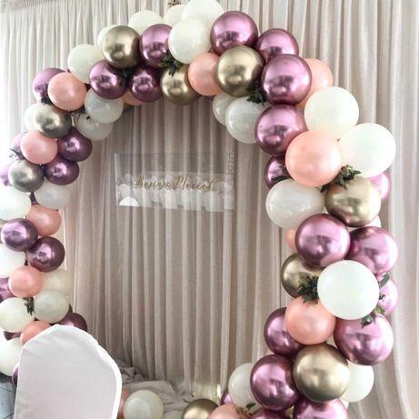 Ścianka na wesele, ścianka do zdjęć, balony z helem, dekoracja wesela
